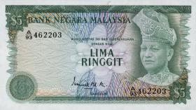 Malaysia P.14a 5 Ringgit (1976) (1)