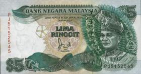 Malaysia P.28c 5 Ringgit (1986-91) (1)