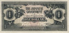 Malaya-Jap.Besetzung P.M 05c 1 Dollar (1942) (1)