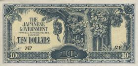 Malaya-Jap.Besetzung P.M 07c  10 Dollars (1942) (1)