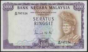 Malaysia P.17 100 Ringgit (1976) (3+)