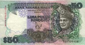 Malaysia P.23 50 Ringgit (1983-84) (3)