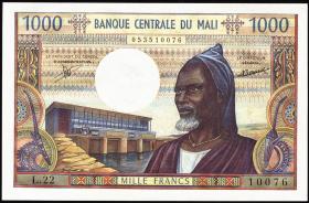 Mali P.13c 1000 Francs (1970-84) (1)