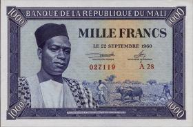 Mali P.04 1000 Francs 1960 (1)