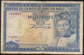 Mali P.09 1000 Francs 1960 (4)