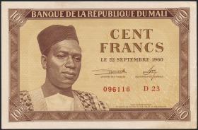 Mali P.02 100 Francs 1960 (2)