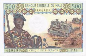 Mali P.12e 500 Francs (1973-84) (1)