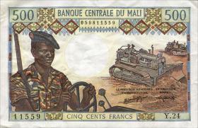 Mali P.12f 500 Francs (1973-84) (3)