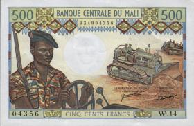 Mali P.12d 500 Francs (1973-84) (1)