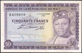Mali P.06 50 Francs 1960 (2)