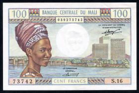Mali P.11 100 Francs (1972-73) (2)