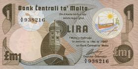 Malta P.34a 1 Lira 1967 (1979) (1)