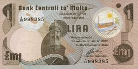 Malta P.34b 1 Lira 1967 (1979) (1)
