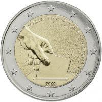 Malta 2 Euro 2011 Wahl