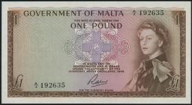 Malta P.26 1 Pound (1963) (1)
