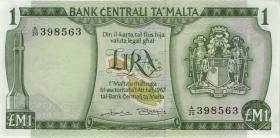 Malta P.31b 1 Lira 1967 (1973) (1)