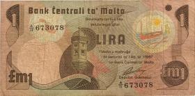 Malta P.34a 1 Lira 1967 (1979) (4)
