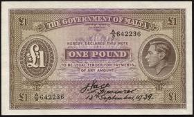 Malta P.14 1 Pound 13.9.1939 (1)