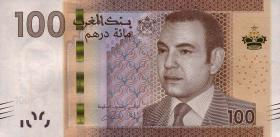 Marokko / Morocco P.76 100 Dirhams 2012 (1)