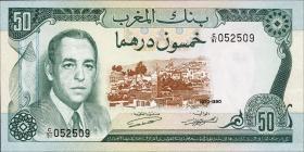Marokko / Morocco P.58a 50 Dirhams 1970 (1)