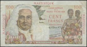 Martinique P.31 100 Francs (1947-49) (3)