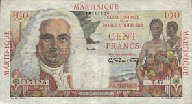 Martinique P.31 100 Francs (1947-49) (3+)
