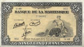Martinique P.17 25 Francs (1943-1945) (1)