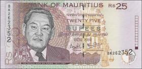 Mauritius P.49c 25 Rupien 2006 (1)