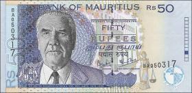Mauritius P.50d 50 Rupien 2006 (1)