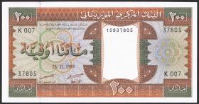 Mauretanien / Mauritania P.05c 200 Ouguiya 1989 (1)