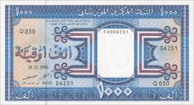 Mauretanien / Mauritania P.07h 1000 Ouguiya 1996 (1)