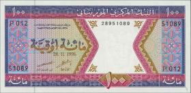 Mauretanien / Mauritania P.04h 100 Ouguiya 1996 (1)