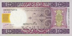 Mauretanien / Mauritania P.10b 100 Ouguiya 2006 (1)