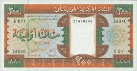 Mauretanien / Mauritania P.05h 200 Ouguiya 1996 (1)