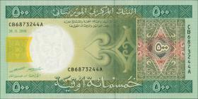 Mauretanien / Mauritania P.12b 500 Ouguiya 2006 (1)