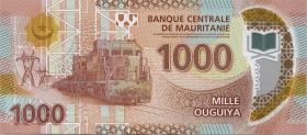 Mauretanien / Mauritania P.26 1000 Ouguiya 2017 (1)