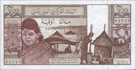 Mauretanien / Mauritania P.02 200 Ouguiya 1973 (1)