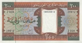 Mauretanien / Mauritania P.05e 200 Ouguiya 1993 (1)