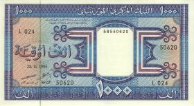 Mauretanien / Mauritania P.07g 1000 Ouguiya 1995 (1)