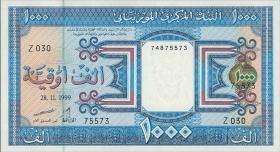 Mauretanien / Mauritania P.09a 1000 Ouguiya 1999 (1)