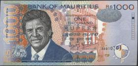 Mauritius P.54a 1000 Rupien 1999 (1)