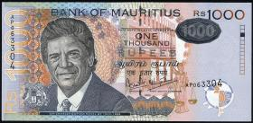 Mauritius P.59c 1000 Rupien 2006 (1)