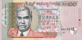Mauritius P.51b 100 Rupien 2001 (1)