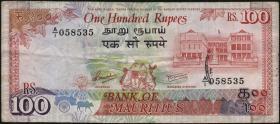 Mauritius P.38 100 Rupien (1986) (3)