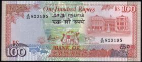 Mauritius P.38 100 Rupien (1986) (1)