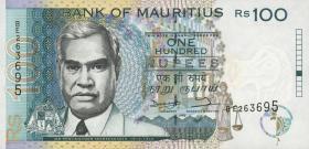 Mauritius P.44 100 Rupien 1998 (1)