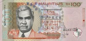 Mauritius P.51a 100 Rupien 1999 (1)