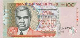 Mauritius P.56a 100 Rupien 2004 (1)