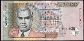 Mauritius P.56b 100 Rupien 2007