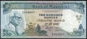 Mauritius P.39 200 Rupien (1985) (1)